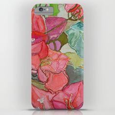 Caribbean Bougainvillea iPhone & iPod Case