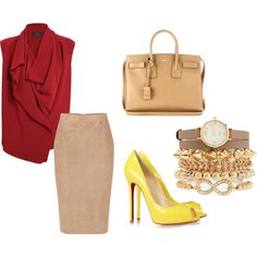 """""""Off for work"""" by clarrisa-clinton on Polyvore"""