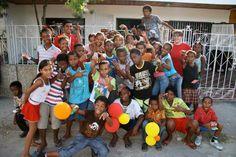 Niños y niñas de El Refugio Corporación