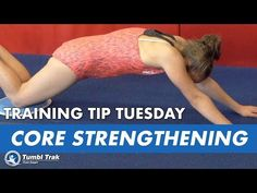 Core Strengthening and Shaping With Sliders Engaging your core is extremely important for many skills, which is why reinforcing this shape is so beneficial. Gym Bar, Core Strengthening, Gymnastics Coaching, Circuits, Drills, Training Tips, Conditioning, Sliders, Exercise