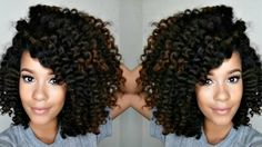 My 3-Strand Twist Out + How YOU can get more volume(if you have thinner ...