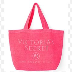 New! Terry cloth beach tote Never used new in packaging Victoria's Secret Bags Totes