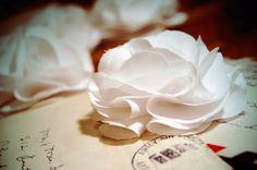 :: fabric flowers