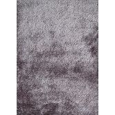 Found it at Wayfair - Shaggy Viscose Solid Gray Rug