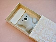 Koala Hug in a Box - Handmade Matchbox Figure pocket gift greeting card by WeeScarlettStudio on Etsy https://www.etsy.com/uk/listing/270121899/koala-hug-in-a-box-handmade-matchbox