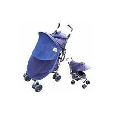 Protect-a-Bub Deluxe Single Stroller/ Jogger Sunshade Attachment Navy