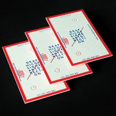 New visual identity - Business cards by Pablo Abad.