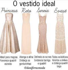 Em busca do vestido ideal? ✔️Espia os efeitos de cada modelagem no nosso corpitcho e escolha aquele sob medida para você! ✔️Qual seu eleito para fazer a festa, conta? ;)