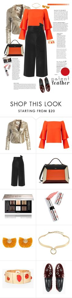 """City Slickers - Patent Leather"" by ellie366 ❤ liked on Polyvore featuring Anja, Sans Souci, Miss Selfridge, TIBI, Mulberry, Givenchy, Ciaté, Katerina Makriyianni, Alexis Bittar and Chico's"