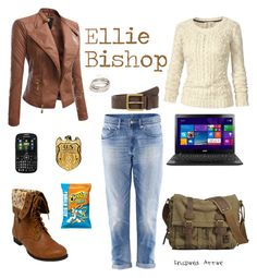 """""""Ellie Bishop"""" by inspiredattire ❤ liked on Polyvore featuring H&M, Doublju, Fat Face, Samsung and ZooShoo"""