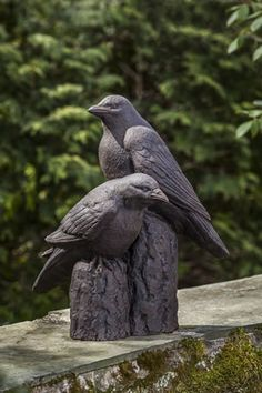 Superieur Nevermore Cast Stone Raven Statue Made By Campania International Garden  Statues For Sale, Stone Garden