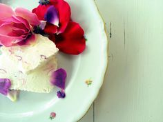 delicious icecream of roses 100% #homemade