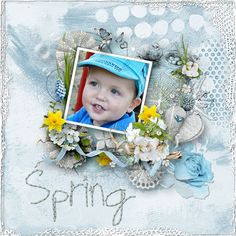 New Kit * The essence of spring* by VanillaM Designs  http://wilma4ever.com/index.php… http://www.digiscrapstore.com/index.php…
