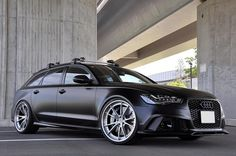 Audi RS6 Avant with HRE S104 (10) by HRE Wheels, via Flickr