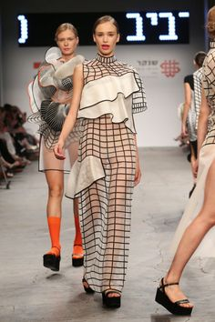 Walking the runway: Hard Copy collection by Noa Raviv