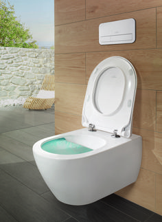 Find out all of the information about the Villeroy & Boch product: wall-hung toilet / ceramic / rimless DIRECTFLUSH. Subway 2.0, Villeroy Boch Subway, Innovation, Bidet, Wall Hung Toilet, Vanity Units, Corner Bathtub, Modern Design, Sweet Home