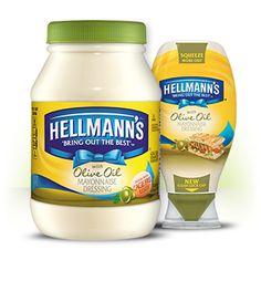 hellmann s mayonnaise dressing with olive oil great hellmann s taste ...