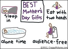 Happy Mother's Day! Hope you get some of these this year.