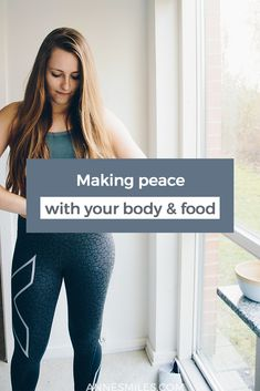 Making peace with your body and food is a big task, but it's an essential part of a happy, meaningful life.