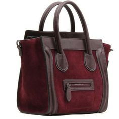 4you2wear Bordeaux leren schoudertas