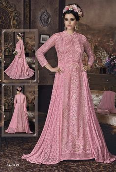 2612 Sybella Returns Heavy net Party wear Salwar Kameez Party wear salwar kameez with heavy net fabric and work Lehenga Suit, Anarkali Suits, Floor Length Anarkali, Indian Wear, Salwar Kameez, Girly Girl, Party Wear, Wedding Gowns, Formal Dresses