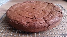Rich chocolate and almond cake