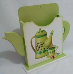 Porta Coador de Café | jupi artes - pintura e decoupagem em mdf | Elo7