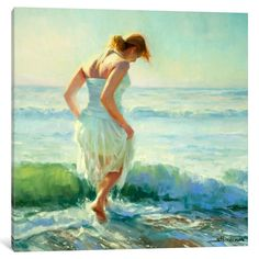 iCanvas Gathering Thoughts by Steve Henderson Canvas Print