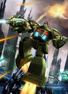 Autobot Cosmos Artwork From Transformers Legends Game