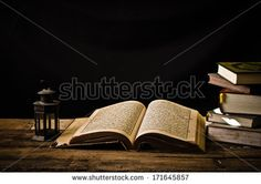 Koran - holy book of Muslims - stock photo