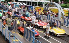 Tomorrowland Speedway, Magic Kingdom, Disney World