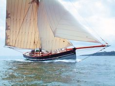 Agnes 46ft (14m) Working Sail Scillonian Pilot Cutter replica yacht, 2003
