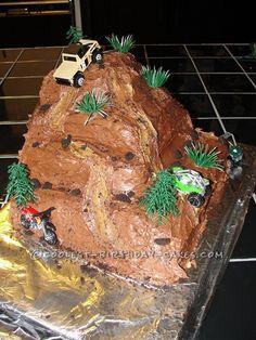 ATV Cake | Pin Atv And Dirt Bike Wedding Cake Topper 2 Flickr Photo Sharing Cake ...