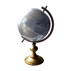 Mixed Metals Globe | dotandbo.com