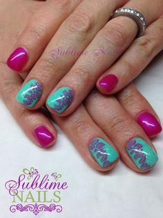Created by Sublime Nails~ Edmonton, AB