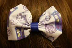 Whovian Bow by MischievousArtistry on Etsy