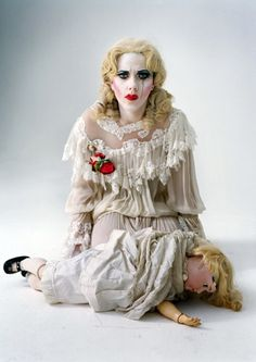 Scarlett Johansson as Baby Jane Hudson by Tim Walker.