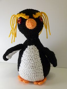 Penguin (rockhopper) - Free by Good Day Crochet