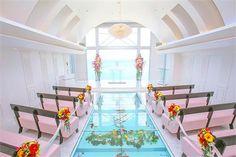 Chapel Ciel De Amour -Araha Beach. My Girls will be Flower Girls in Friend's wedding. Okinawa, Japan