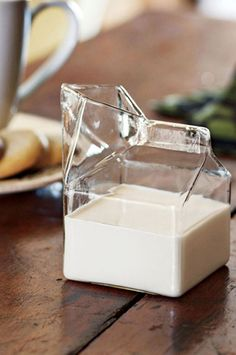 Glass Carton for Milk + Cream