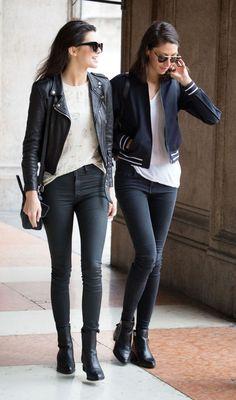 Le Fashion Blog Model Kendall Jenner Street Style Cat Eye Sunglasses Croc Leather Moto Jacket Coated Skinny Jeans Alexander Wang Leather Boots Via Sugarscape