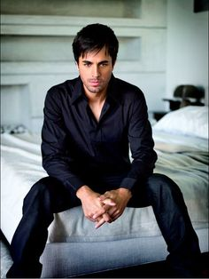Enrique Iglesias, can keep trying but I dont think he will hit the popularity status of his father.