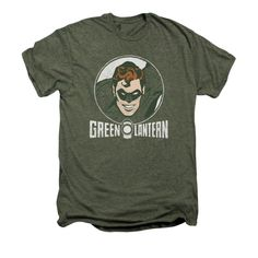 This Green Lantern t-shirt features a circle design. This premium t-shirt is a blended heather with 50% cotton for a…