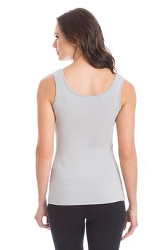 the best thing about this peach tank is that it holds its shape throughout the day- keeping you confident and comfortable.  #withlovepeach