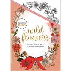 KaiserColour Coloring Book-The Wild Flowers