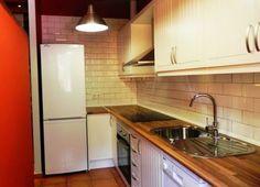Cocina totalmente equipada, frigorífico, horno, vitroceramica, lavavajillas, lavadora, microondas, tostadora, esprimidor,.....