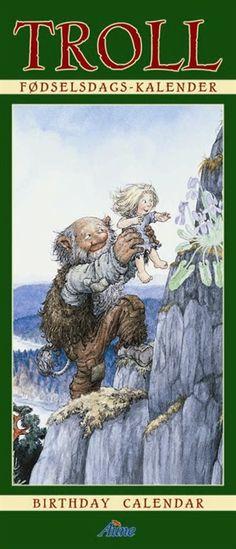 Trollkalender - Aune Forlag