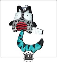 Doudou gato gris azul rojo la Halle. 17cm  ✿ Regalos para recién nacidos - Bebes ✿ ▬► Ver oferta: http://comprar.io/goto/B01LCLXN1I