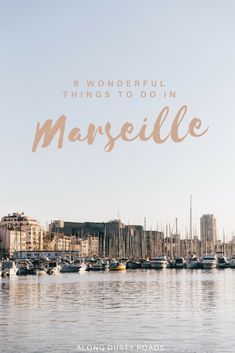 Our Favourite Things to Do in Marseille Planning a city break to Marseille? This travel guide will show you all our favourite things to do in Marseille, recommendations on where to stay and eat, plus some of our top tips to enjoy France's second city. Marsielle France, Ville France, South Of France, Voyage Europe, Europe Travel Guide, Travel Guides, Travel Destinations, Camping France, France Travel