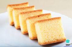 Receta de Bizcocho suave y esponjoso de vainilla